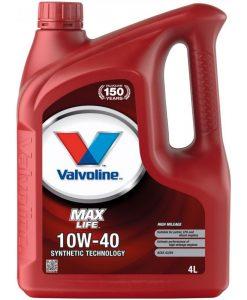 Двигателно масло VALVOLINE MAXLIFE 10W40 4L
