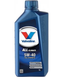 Двигателно масло VALVOLINE ALL CLIMATE 5W40 1L