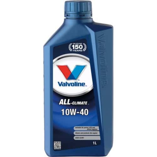 Двигателно масло VALVOLINE All Climate 10W40 – 1 Литър