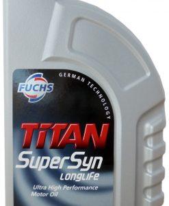 Двигателно масло FUCHS TITAN SUPERSYN LONGLIFE 5W40 1L