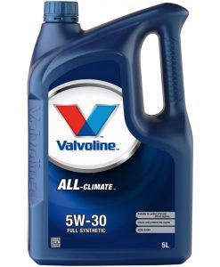 Двигателно масло VALVOLINE ALL CLIMATE 5W30 5L