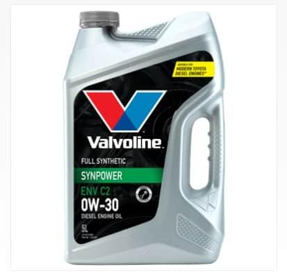 Масло VALVOLINE SYNPOWER ENV C2 0W30 5L