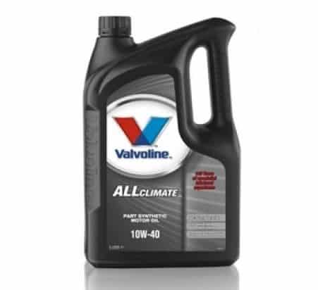 Масло VALVOLINE All Climate 10W40 5L