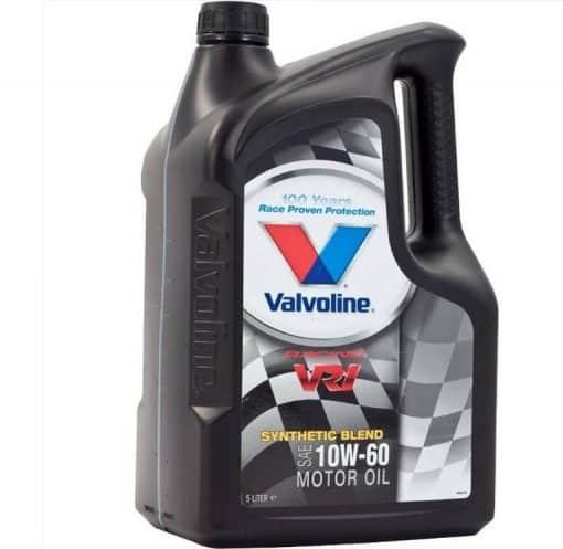 Масло Valvoline VR1 Racing 10W60 5L