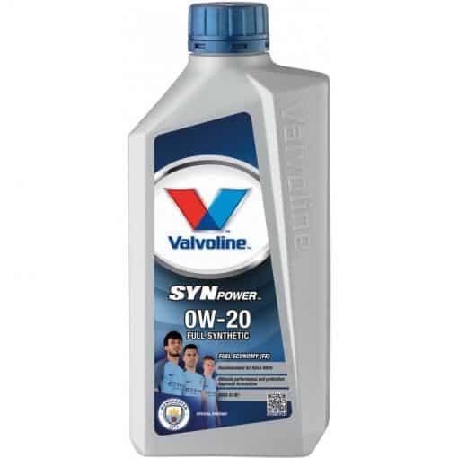 Двигателно масло VALVOLINE SynPower FE 0W20 1L