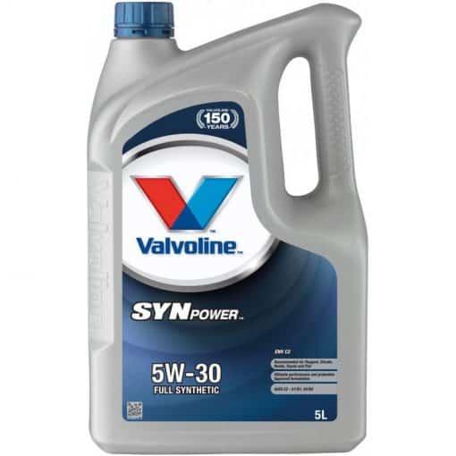Двигателно масло VALVOLINE SYNPOWER ENV C2 5W30 5L