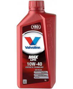 Двигателно масло VALVOLINE MAXLIFE 10W40 1L