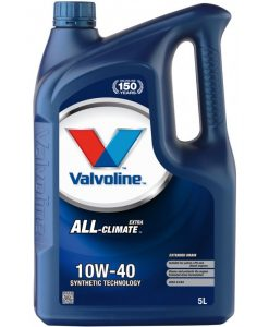Двигателно масло VALVOLINE ALL CLIMATE EXTRA 10W40 5L
