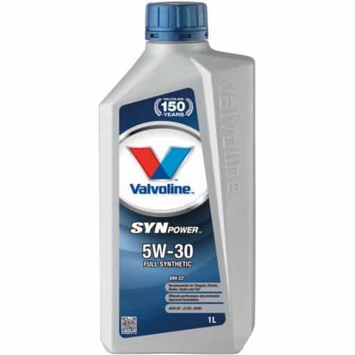 Двигателно масло VALVOLINE SYNPOWER ENV C2 5W30 1L
