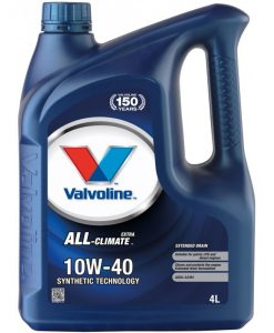 Двигателно масло VALVOLINE ALL CLIMATE EXTRA 10W40 4L