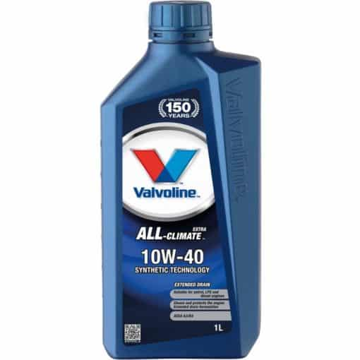 Двигателно масло VALVOLINE ALL CLIMATE EXTRA 10W40 1L