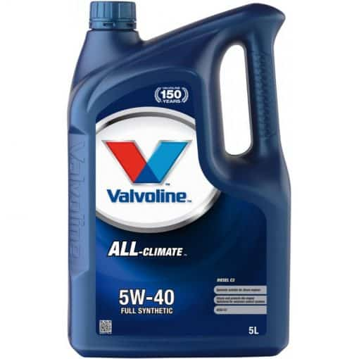 Двигателно маслоVALVOLINE ALL CLIMATE DIESEL C3 5W40 5L