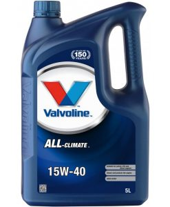 Двигателно масло VALVOLINE ALL CLIMATE 15W40 5L