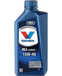 Двигателно масло VALVOLINE ALL CLIMATE 15W40 1L
