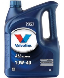 Двигателно масло VALVOLINE All Climate 10W40 4L
