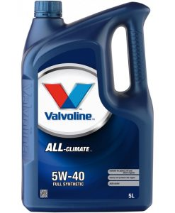Двигателно маслоVALVOLINE ALL CLIMATE 5W40 5L