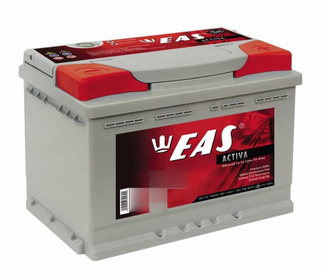 Акумулатор EAS Activa 75Ah 700a 12V R+