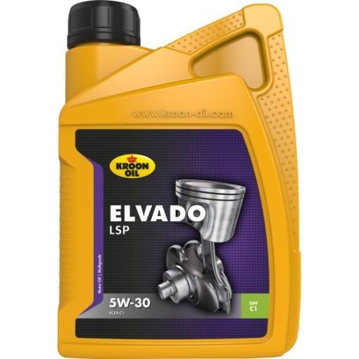 Двигателно масло KROON OIL ELVADO LSP 5W30 5L