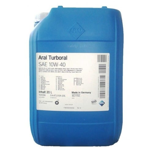 Масло Aral Turboral 10w-40 - 20 литра
