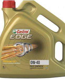Масло CASTROL EDGE 0W40 - 4 литра