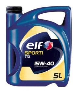 Масло ELF SPORTI TXI 15W40 - 5 литра