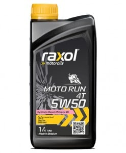 Масло RAXOL MOTO RUN 4T 5W50 1L