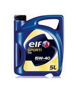 Двигателно масло ELF SPORTI TXI 15W40 - 5 литра