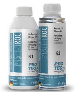 Добавка Pro-Tec Radiator Oil Cleaner 2-components 188ml