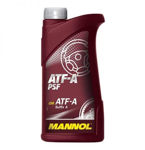 Хидравлично масло MANNOL ATF Type A червено - 1L