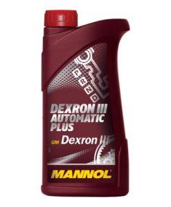 Трансмисионно масло MANNOL ATF Dexron III червено - 1L