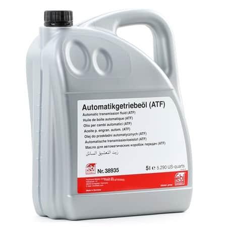 Трансмисионно масло Febi 38935- 5L