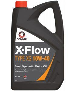 Масло COMMA X-FLOW TYPE XS 10W40 5L