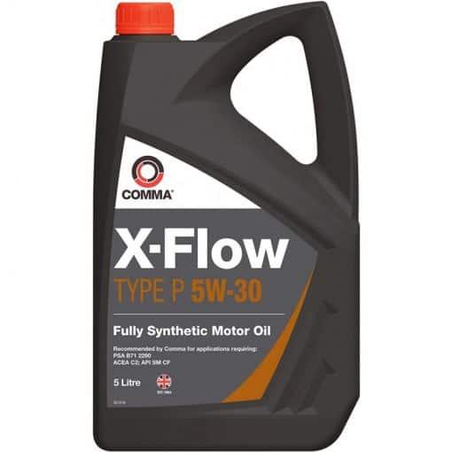 Масло COMMA X-FLOW TYPE P 5W30 5L