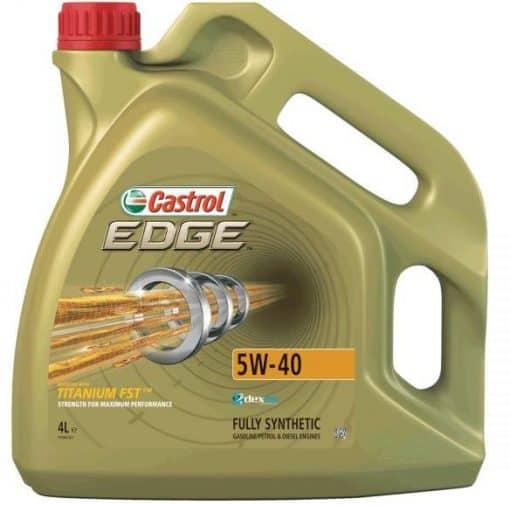 Масло CASTROL EDGE 5W40 – 4 литра
