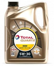 Масло TOTAL QUARTZ 9000 ENE HKS G-310 5W30 5L