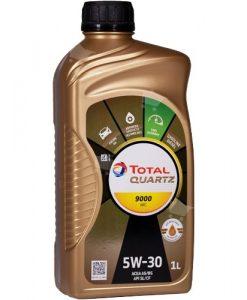 Масло TOTAL QUARTZ 9000 FUTURE NFC 5W30 - 1L