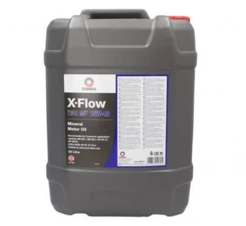Масло COMMA X-FLOW TYPE MF 15W40 20L
