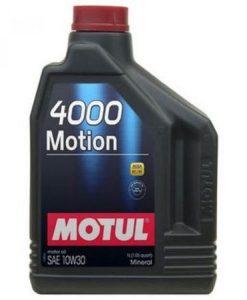 Масло MOTUL 4000 MOTION 10W30 2L