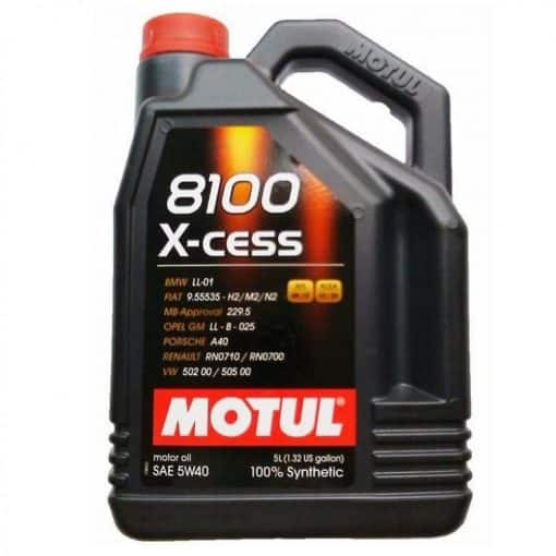 Масло MOTUL 8100 X-CESS 5W40 - 4 литра