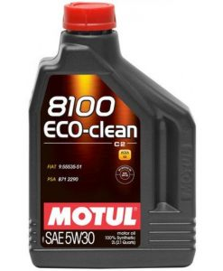 Масло MOTUL 8100 Eco-clean 5W30 - 2 литра