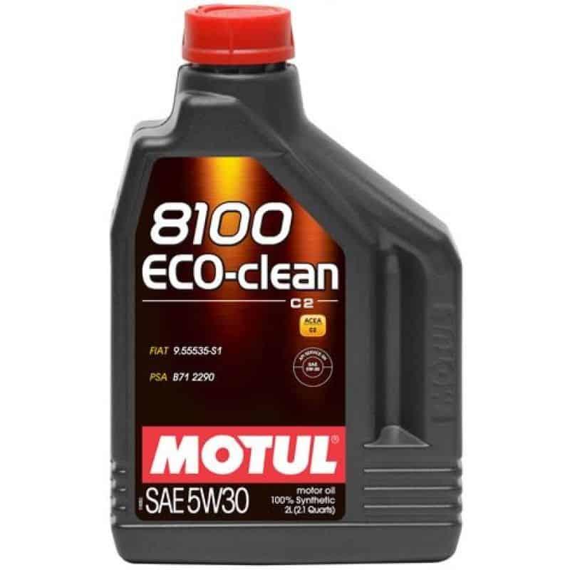 Масло MOTUL 8100 Eco-clean 5W30 - 2 литра