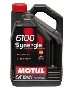 Масло Motul 6100 SYNERGIE 15W50 4L