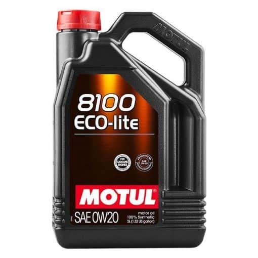 Масло Motul 8100 ECO-LITE 0W20 5L