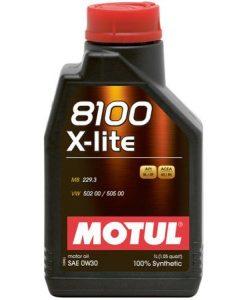 Масло Motul 8100 X-LITE 0W30 1L