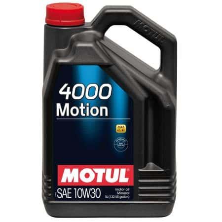 Масло MOTUL 4000 MOTION 10W30 5L