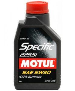 Масло Motul SPECIFIC 229.51 5W30 1L