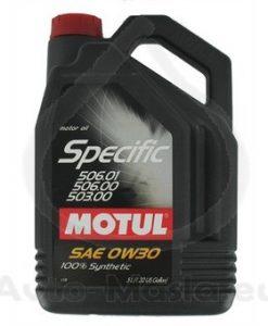 Масло Motul SPECIFIC 506 01 / 506 00 / 503 00 0W30 5L
