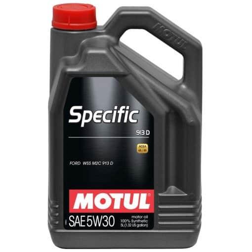 Масло MOTUL SPECIFIC 913D 5W30 5L