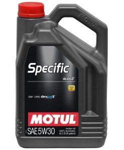 Масло MOTUL SPECIFIC DEXOS2 5W30 5L