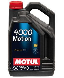 Масло MOTUL 4000 MOTION 15W40 5L